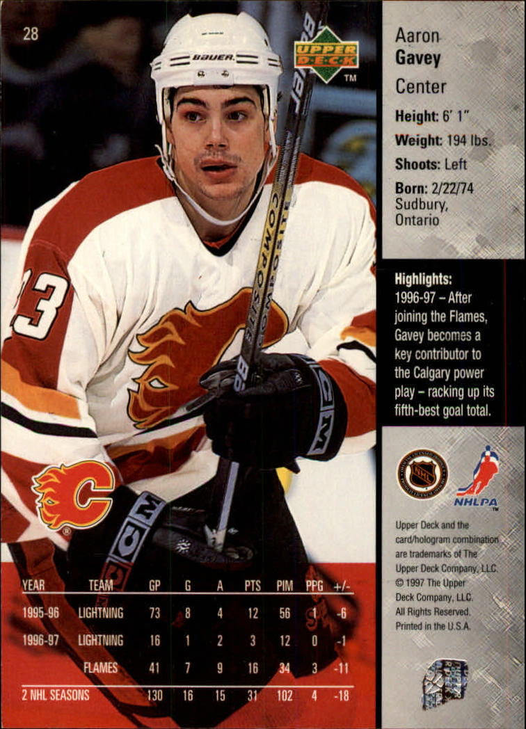 1997-98-Upper-Deck-Hk-Cards-1-195-Rookies-A4551-You-Pick-10-FREE-SHIP thumbnail 47