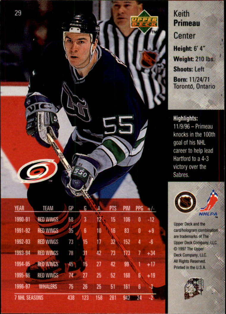 1997-98-Upper-Deck-Hk-Cards-1-195-Rookies-A4551-You-Pick-10-FREE-SHIP thumbnail 49
