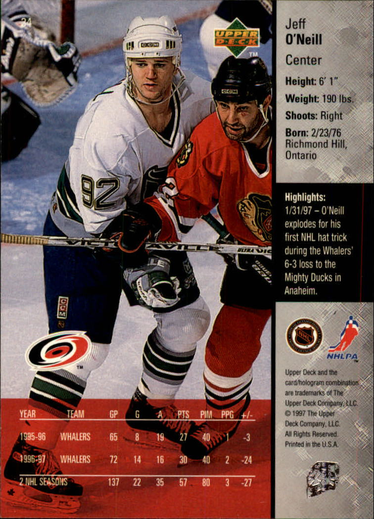 1997-98-Upper-Deck-Hk-Cards-1-195-Rookies-A4551-You-Pick-10-FREE-SHIP thumbnail 59
