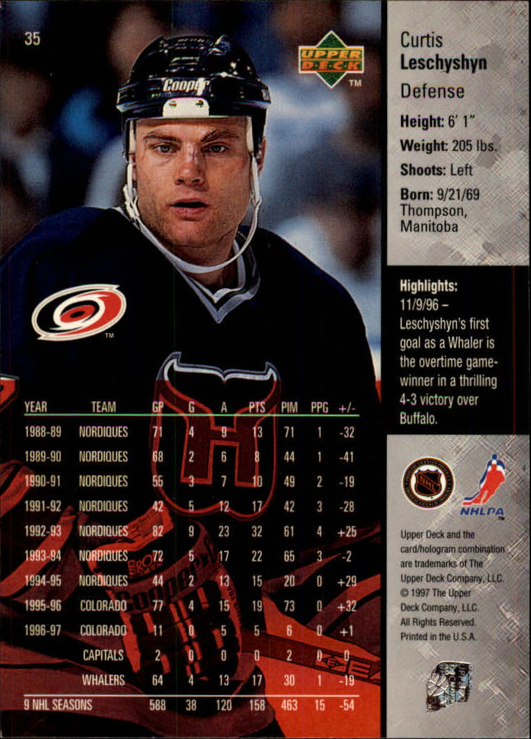 1997-98-Upper-Deck-Hk-Cards-1-195-Rookies-A4551-You-Pick-10-FREE-SHIP thumbnail 61