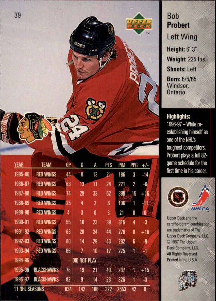 1997-98-Upper-Deck-Hk-Cards-1-195-Rookies-A4551-You-Pick-10-FREE-SHIP thumbnail 67