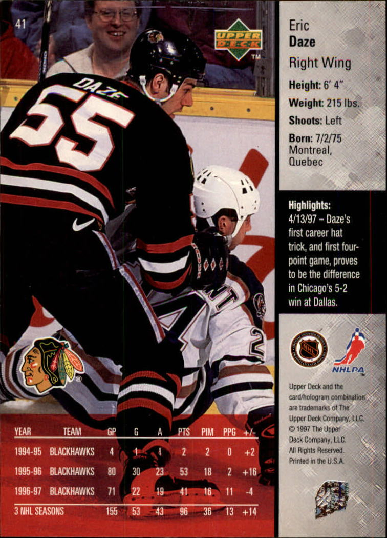 1997-98-Upper-Deck-Hk-Cards-1-195-Rookies-A4551-You-Pick-10-FREE-SHIP thumbnail 71