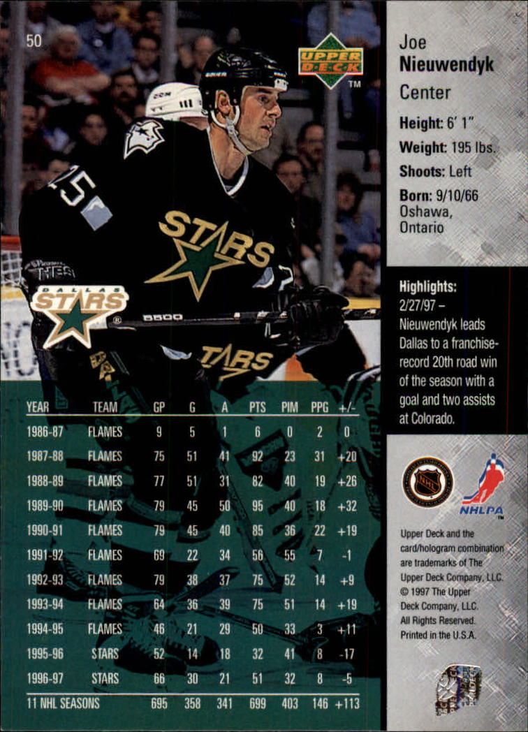 1997-98-Upper-Deck-Hk-Cards-1-195-Rookies-A4551-You-Pick-10-FREE-SHIP thumbnail 88