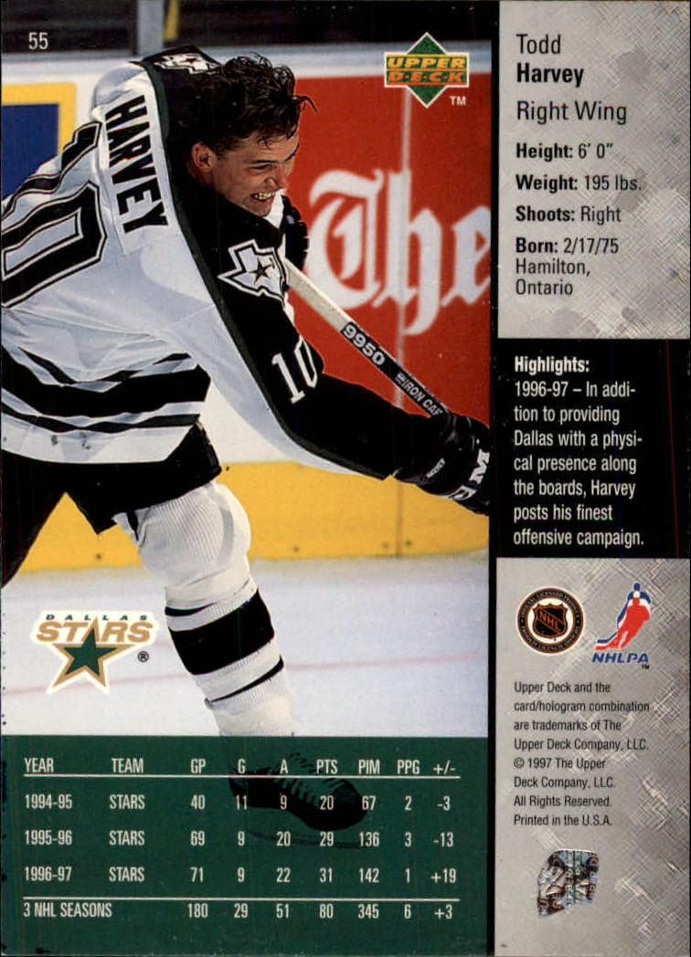 1997-98-Upper-Deck-Hk-Cards-1-195-Rookies-A4551-You-Pick-10-FREE-SHIP thumbnail 98