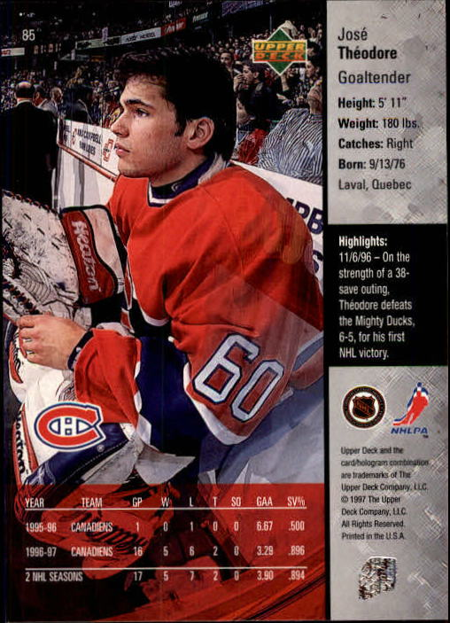 1997-98-Upper-Deck-Hk-Cards-1-195-Rookies-A4551-You-Pick-10-FREE-SHIP thumbnail 150