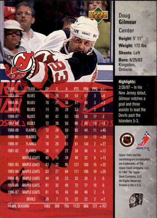 1997-98-Upper-Deck-Hk-Cards-1-195-Rookies-A4551-You-Pick-10-FREE-SHIP thumbnail 162