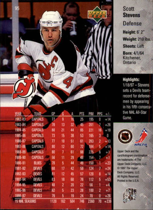 1997-98-Upper-Deck-Hk-Cards-1-195-Rookies-A4551-You-Pick-10-FREE-SHIP thumbnail 168
