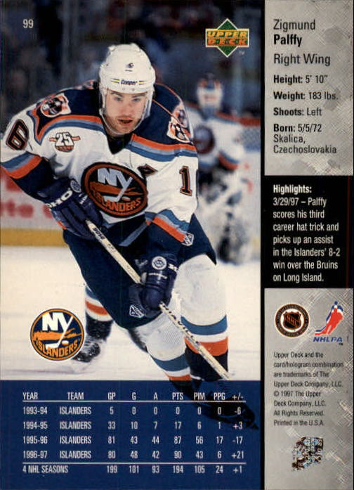 1997-98-Upper-Deck-Hk-Cards-1-195-Rookies-A4551-You-Pick-10-FREE-SHIP thumbnail 174