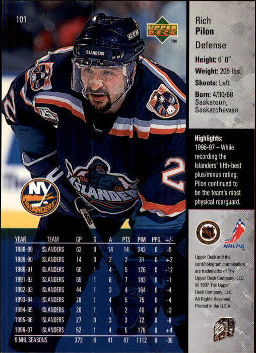 1997-98-Upper-Deck-Hk-Cards-1-195-Rookies-A4551-You-Pick-10-FREE-SHIP thumbnail 178