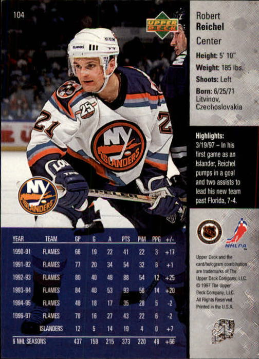 1997-98-Upper-Deck-Hk-Cards-1-195-Rookies-A4551-You-Pick-10-FREE-SHIP thumbnail 184