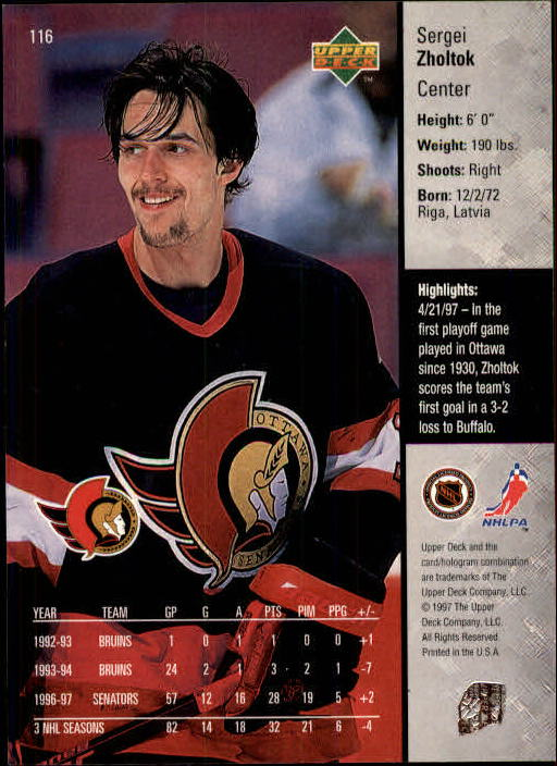 1997-98-Upper-Deck-Hk-Cards-1-195-Rookies-A4551-You-Pick-10-FREE-SHIP thumbnail 206