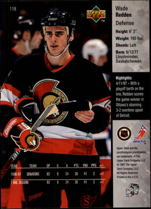 1997-98-Upper-Deck-Hk-Cards-1-195-Rookies-A4551-You-Pick-10-FREE-SHIP thumbnail 208
