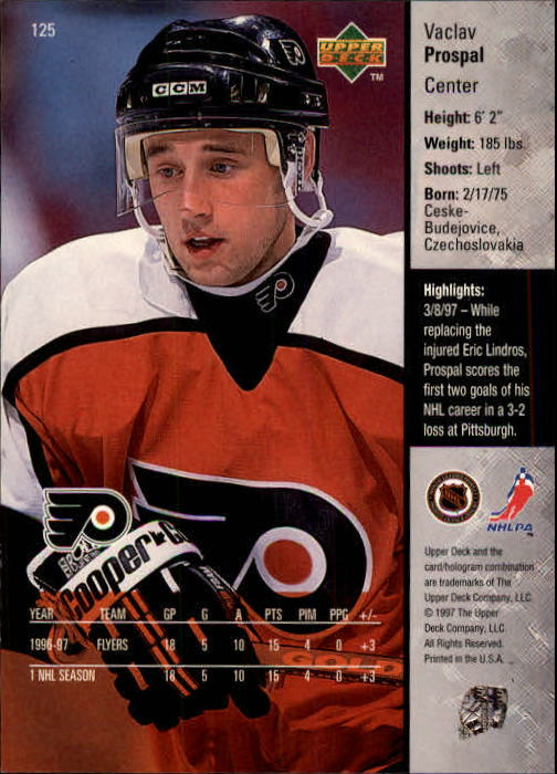 1997-98-Upper-Deck-Hk-Cards-1-195-Rookies-A4551-You-Pick-10-FREE-SHIP thumbnail 222