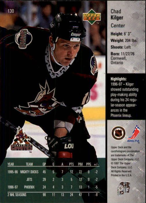 1997-98-Upper-Deck-Hk-Cards-1-195-Rookies-A4551-You-Pick-10-FREE-SHIP thumbnail 232