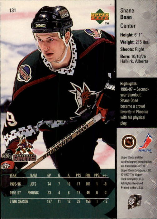1997-98-Upper-Deck-Hk-Cards-1-195-Rookies-A4551-You-Pick-10-FREE-SHIP thumbnail 234