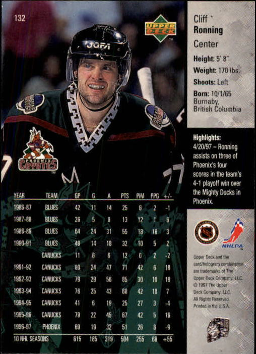 1997-98-Upper-Deck-Hk-Cards-1-195-Rookies-A4551-You-Pick-10-FREE-SHIP thumbnail 236