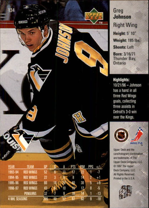 1997-98-Upper-Deck-Hk-Cards-1-195-Rookies-A4551-You-Pick-10-FREE-SHIP thumbnail 240