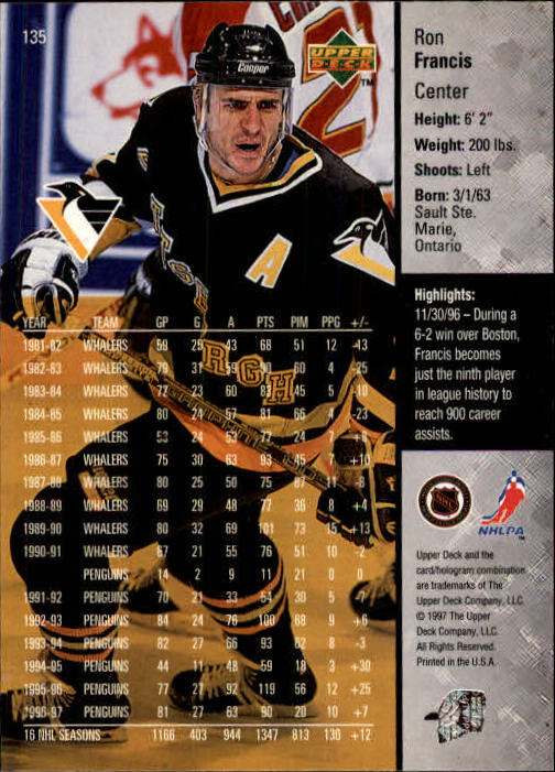 1997-98-Upper-Deck-Hk-Cards-1-195-Rookies-A4551-You-Pick-10-FREE-SHIP thumbnail 242