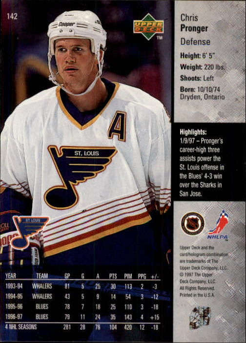 1997-98-Upper-Deck-Hk-Cards-1-195-Rookies-A4551-You-Pick-10-FREE-SHIP thumbnail 256