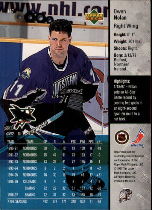 1997-98-Upper-Deck-Hk-Cards-1-195-Rookies-A4551-You-Pick-10-FREE-SHIP thumbnail 264