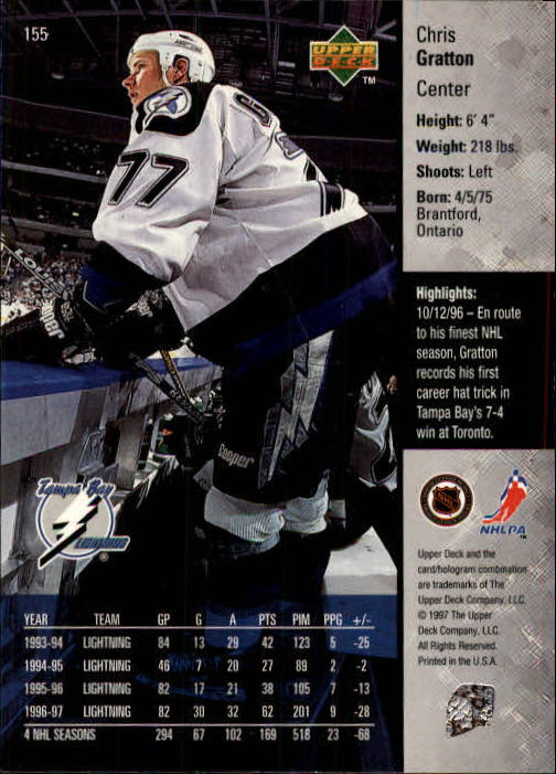 1997-98-Upper-Deck-Hk-Cards-1-195-Rookies-A4551-You-Pick-10-FREE-SHIP thumbnail 278