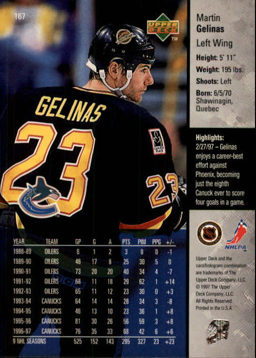 1997-98-Upper-Deck-Hk-Cards-1-195-Rookies-A4551-You-Pick-10-FREE-SHIP thumbnail 300