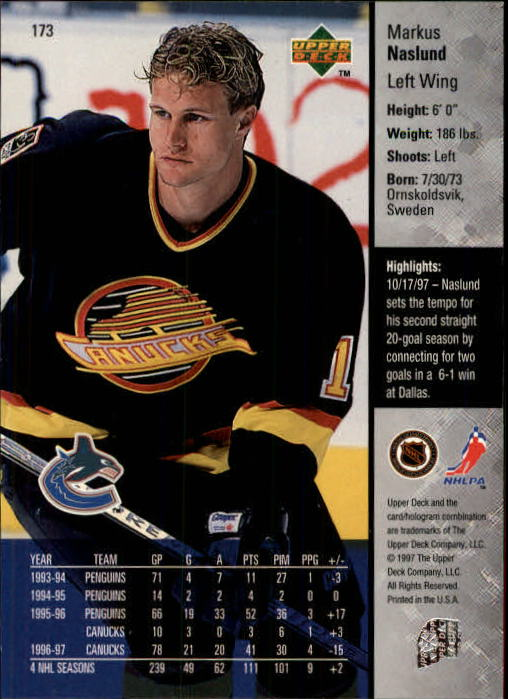 1997-98-Upper-Deck-Hk-Cards-1-195-Rookies-A4551-You-Pick-10-FREE-SHIP thumbnail 312