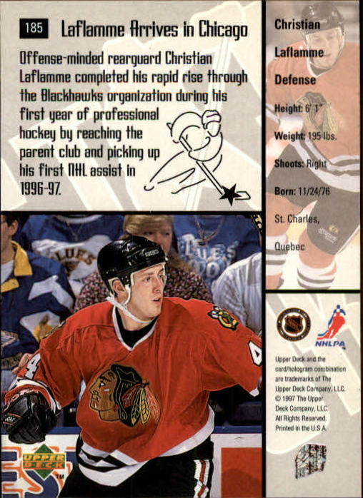 1997-98-Upper-Deck-Hk-Cards-1-195-Rookies-A4551-You-Pick-10-FREE-SHIP thumbnail 336