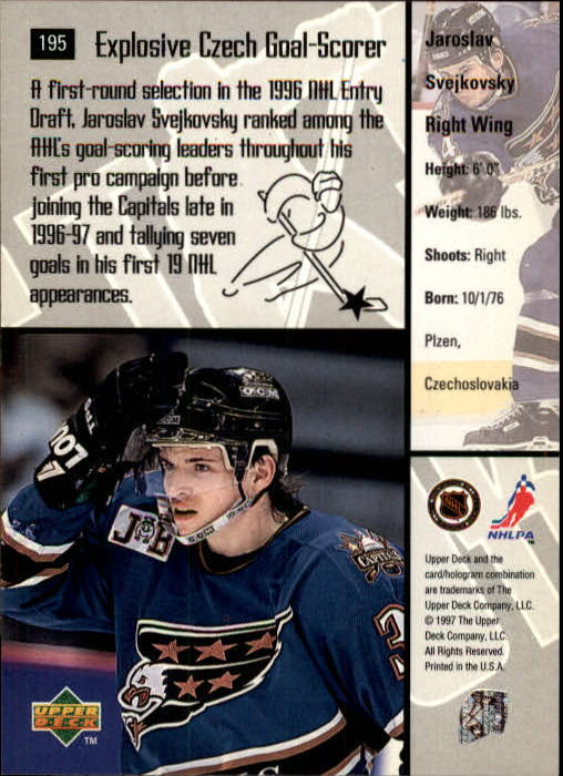 1997-98-Upper-Deck-Hk-Cards-1-195-Rookies-A4551-You-Pick-10-FREE-SHIP thumbnail 350
