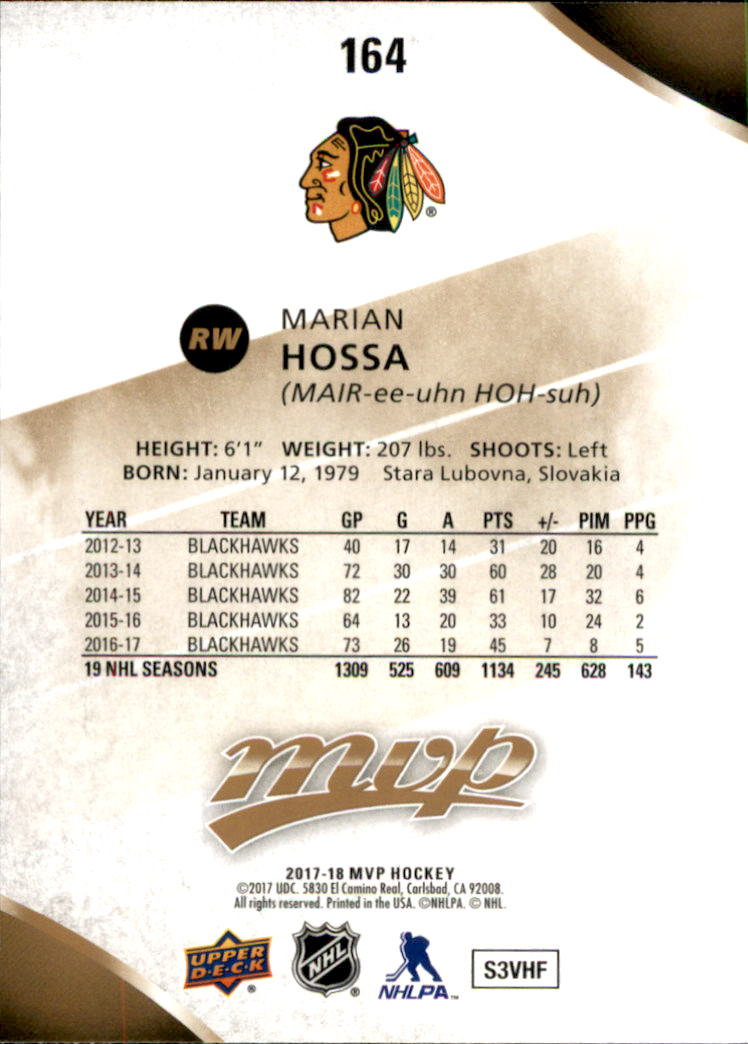 2017-18-Upper-Deck-MVP-Hk-1-250-Rookies-A0932-You-Pick-10-FREE-SHIP thumbnail 129