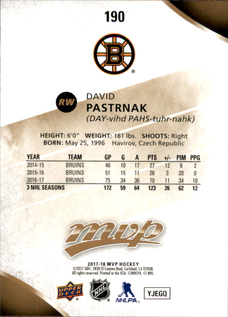 2017-18-Upper-Deck-MVP-Hk-1-250-Rookies-A0932-You-Pick-10-FREE-SHIP thumbnail 373