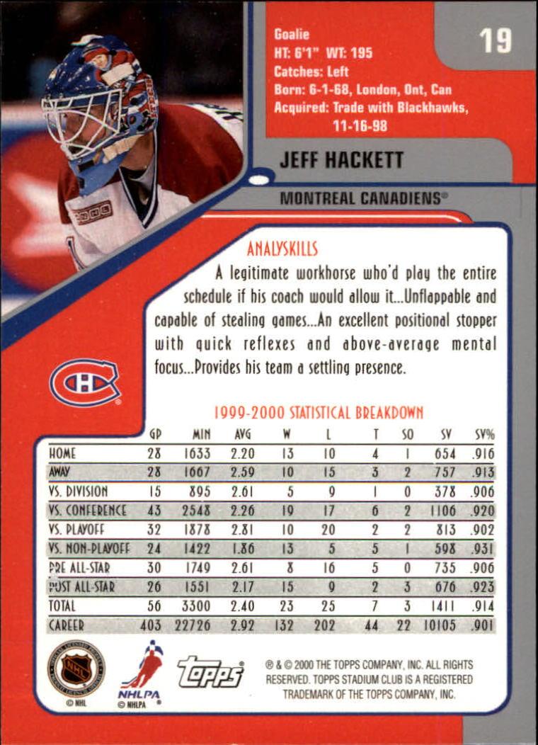 2000-01-Stadium-Club-Hk-s-1-260-Inserts-A2970-You-Pick-10-FREE-SHIP thumbnail 25
