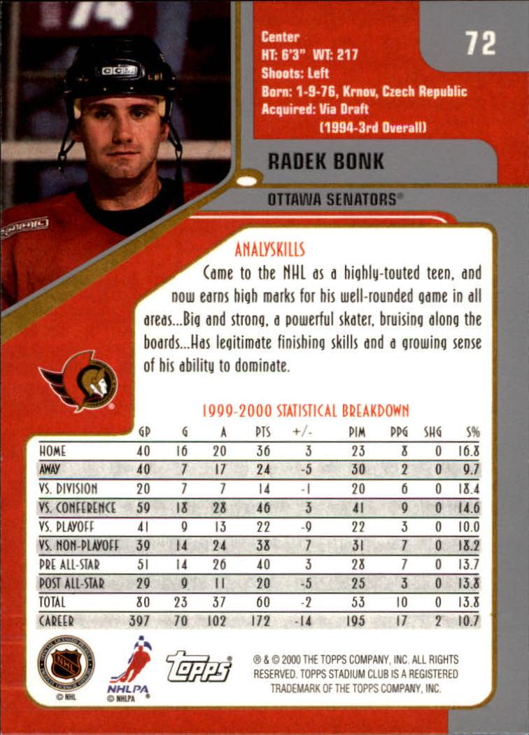2000-01-Stadium-Club-Hk-s-1-260-Inserts-A2970-You-Pick-10-FREE-SHIP thumbnail 107
