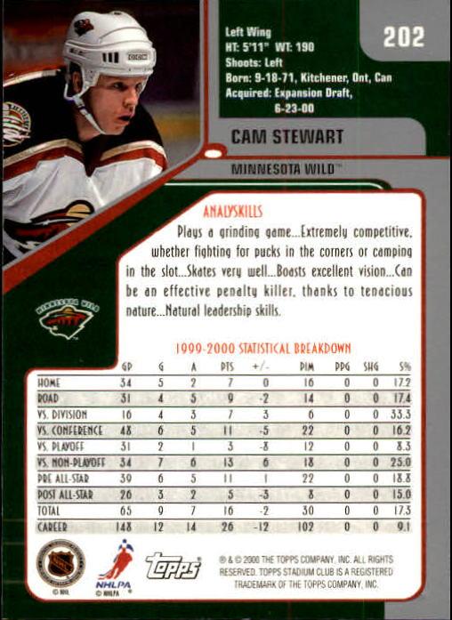 2000-01-Stadium-Club-Hk-s-1-260-Inserts-A2970-You-Pick-10-FREE-SHIP thumbnail 313