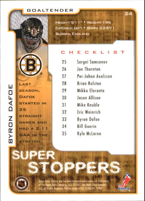 2001-02-Upper-Deck-Victory-Hk-Cards-1-250-A5960-You-Pick-10-FREE-SHIP miniature 43