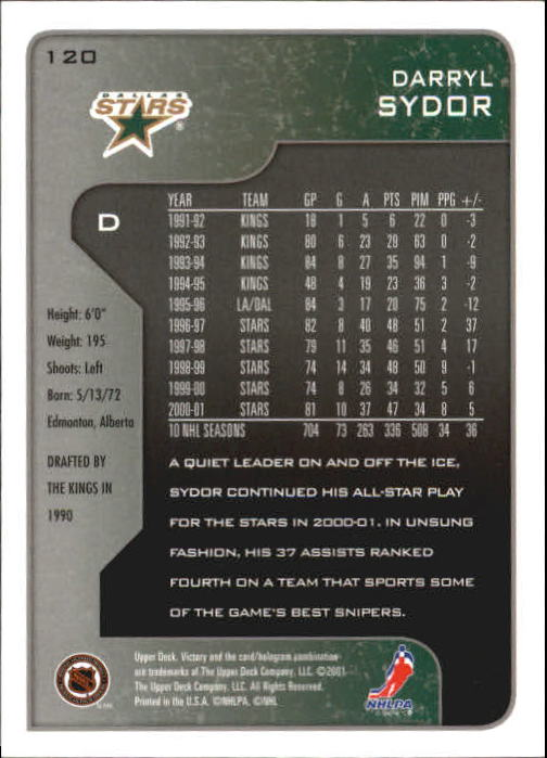 2001-02-Upper-Deck-Victory-Hk-Cards-1-250-A5960-You-Pick-10-FREE-SHIP miniature 227