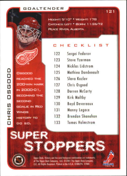 2001-02-Upper-Deck-Victory-Hk-Cards-1-250-A5960-You-Pick-10-FREE-SHIP miniature 229