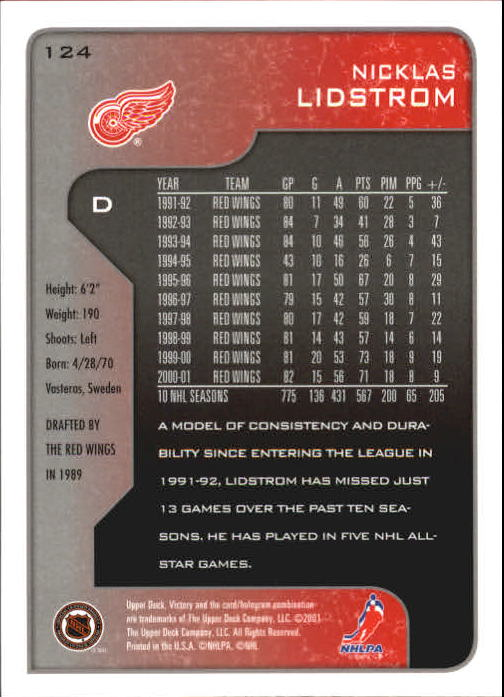 2001-02-Upper-Deck-Victory-Hk-Cards-1-250-A5960-You-Pick-10-FREE-SHIP miniature 235