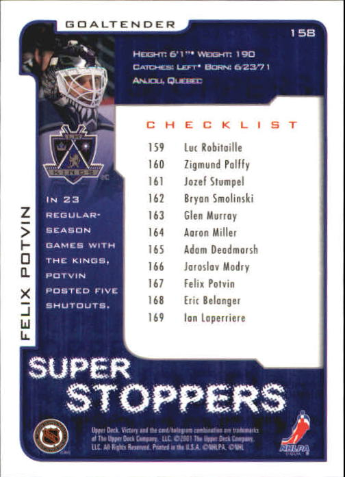 2001-02-Upper-Deck-Victory-Hk-Cards-1-250-A5960-You-Pick-10-FREE-SHIP miniature 303