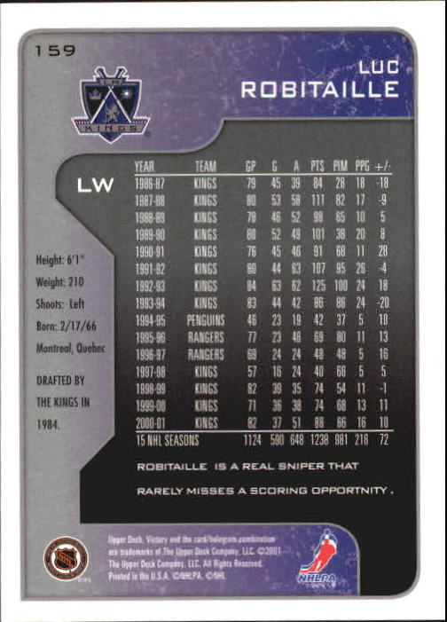 2001-02-Upper-Deck-Victory-Hk-Cards-1-250-A5960-You-Pick-10-FREE-SHIP miniature 305