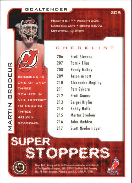 2001-02-Upper-Deck-Victory-Hk-Cards-1-250-A5960-You-Pick-10-FREE-SHIP miniature 393
