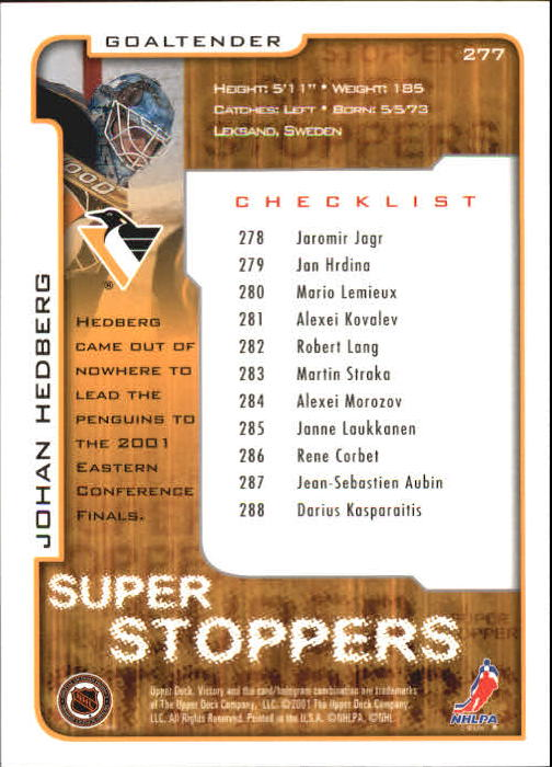 2001-02-Upper-Deck-Victory-Hk-Cards-251-440-A5960-You-Pick-10-FREE-SHIP miniature 55