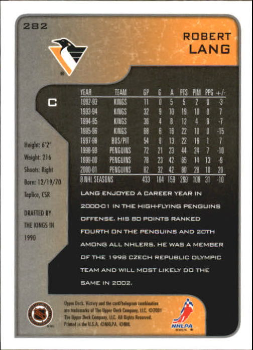 2001-02-Upper-Deck-Victory-Hk-Cards-251-440-A5960-You-Pick-10-FREE-SHIP miniature 65