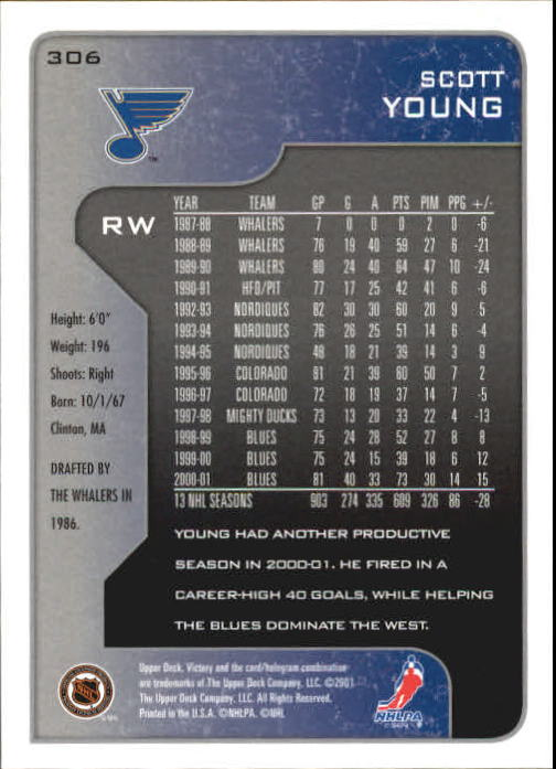2001-02-Upper-Deck-Victory-Hk-Cards-251-440-A5960-You-Pick-10-FREE-SHIP miniature 113