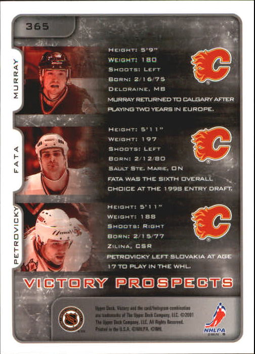 2001-02-Upper-Deck-Victory-Hk-Cards-251-440-A5960-You-Pick-10-FREE-SHIP miniature 227