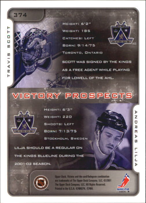 2001-02-Upper-Deck-Victory-Hk-Cards-251-440-A5960-You-Pick-10-FREE-SHIP miniature 245