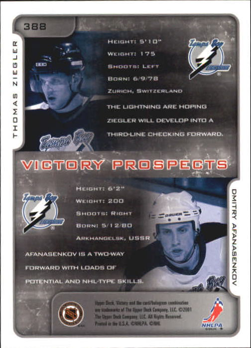 2001-02-Upper-Deck-Victory-Hk-Cards-251-440-A5960-You-Pick-10-FREE-SHIP miniature 269