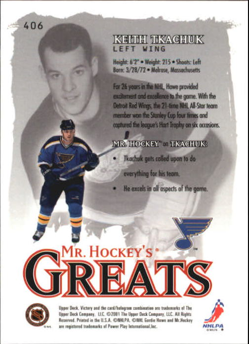 2001-02-Upper-Deck-Victory-Hk-Cards-251-440-A5960-You-Pick-10-FREE-SHIP miniature 305
