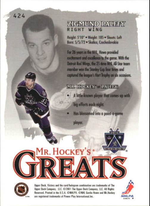 2001-02-Upper-Deck-Victory-Hk-Cards-251-440-A5960-You-Pick-10-FREE-SHIP miniature 341