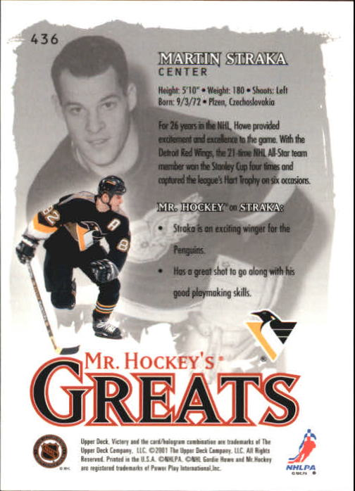 2001-02-Upper-Deck-Victory-Hk-Cards-251-440-A5960-You-Pick-10-FREE-SHIP miniature 363